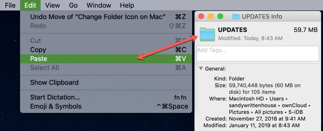 How to customize folder icons on Mac
