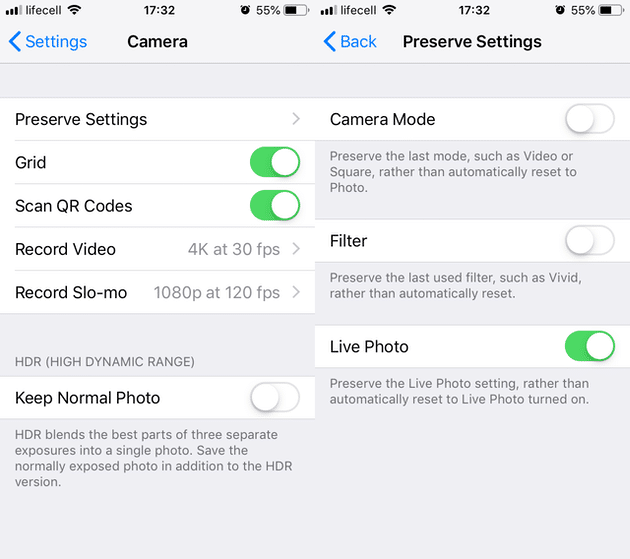 iPhone Camera settings you should be using for better photos