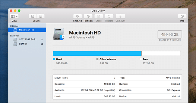 How to Use Your Mac's Disk Utility to Partition, Wipe, Repair, Restore, and  Copy Drives