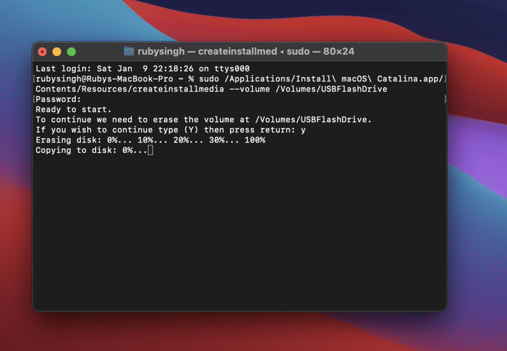 Create macOS Catalina Bootable Installer for Fresh Installation: 2 Easy Steps (With Installation Steps)
