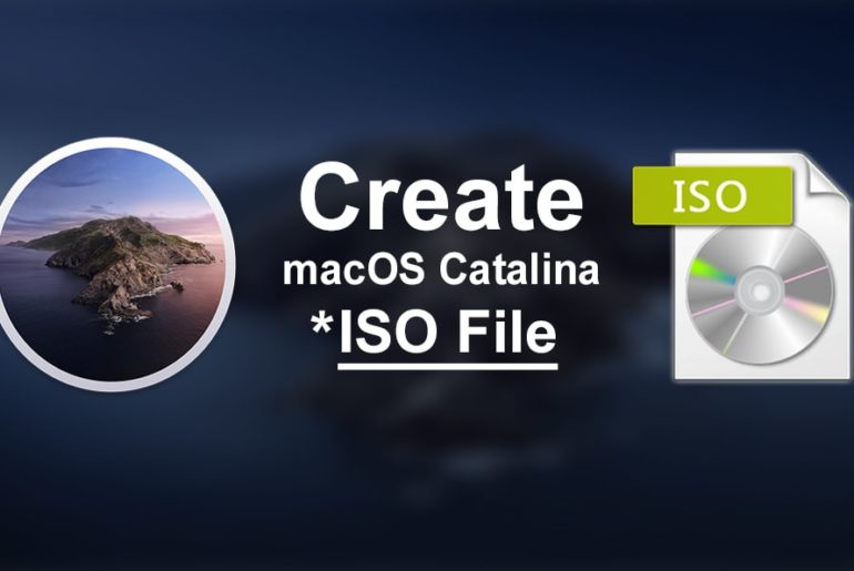 How to Create macOS Catalina ISO File: 3 Step Easy Guide