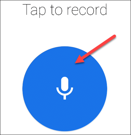 Follow the steps to record a greeting message.